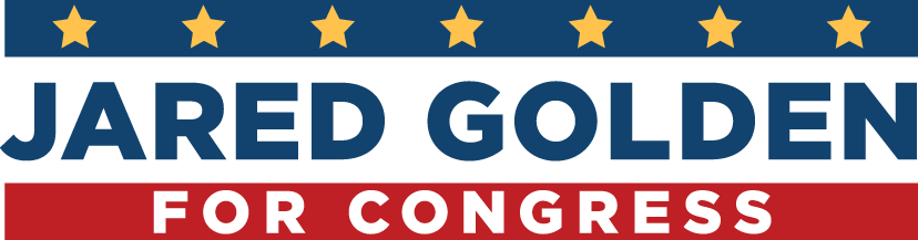 Jared Golden for Congress logo